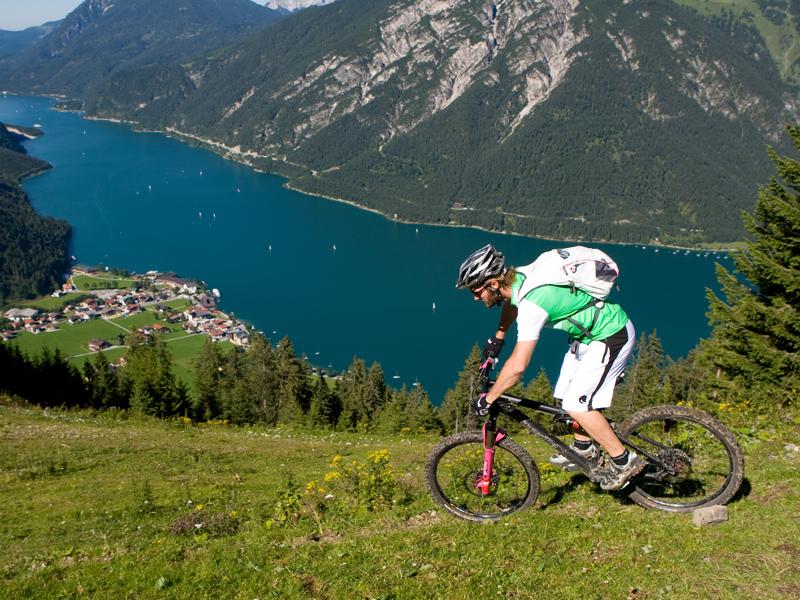 biketour in pertisau in tirol
