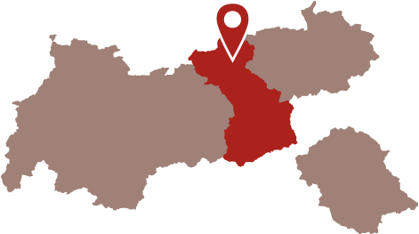 Lage - Alpenrose Pertisau